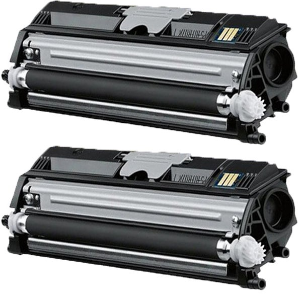 QMS 1600 BK Compatible Toner Cartridge For 1600 1650 (Pack of 2)