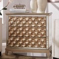 Borghese Champagne Mirrored 3-drawer Sideboard Cabinet
