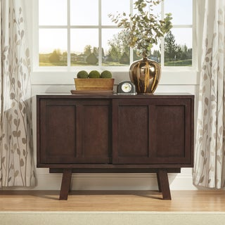 INSPIRE Q Sasha Retro Brown Sideboard