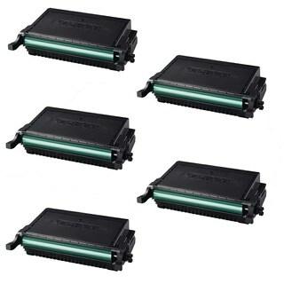 Samsung CLT-K508L Compatible Toner Cartridge For CLP-620 CLP-670N (Pack of 5)