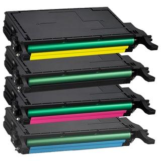 Samsung CLT-K508L CLT-C508L CLT-Y508L CLT-M508L Compatible Toner Cartridge For CLP-620 CLP-670N (Pack of 4)