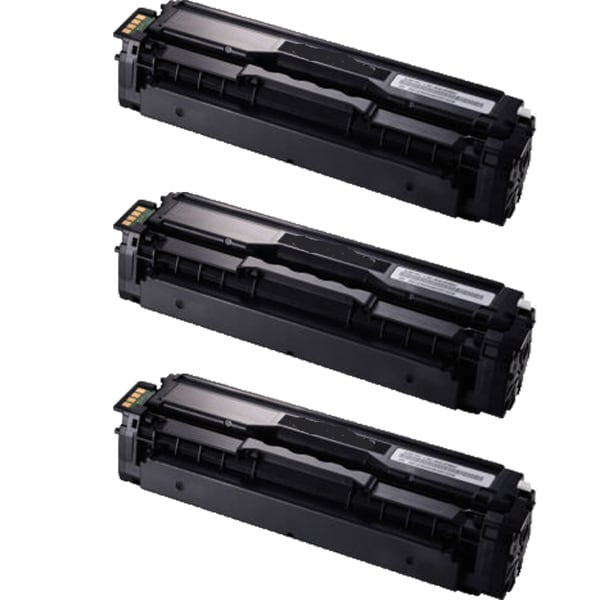 Samsung CLT-K504S Compatible Toner Cartridge For CLP-415NW / CLX-4195FW (Pack of 3)