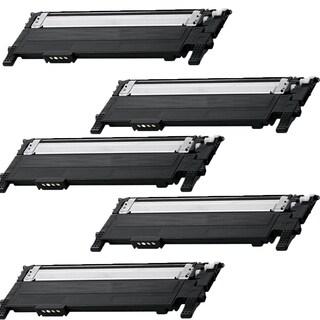 Samsung CLT-K406S Compatible Toner Cartridge For CLP-360 CLP-365W CLP-368 CLX-3300 CLX-3305FW (Pack of 5)