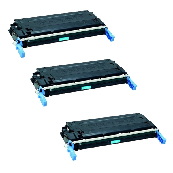 HP Q6471A Toner Cyan Compatible Toner Cartridge 3600 3600dn 3600n 3800 3800dn 3800dtn 3800n CP3505dn (Pack of 3)