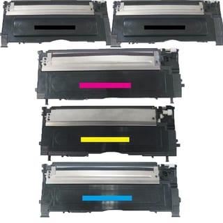 Samsung Compatible CLT-M409S CLT-C409S CLT-Y409S 2 x CLT-K409S toner Cartridge For CLP-315/315W CLX-3175FN (Pack of 5)