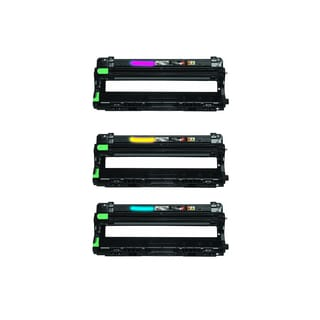 Brother DR221 Yellow Cyan Magenta Cartridge Brother HL-3170CDW MFC-9330CDW HL-3140CW MFC-9130CW (Pack of 3)