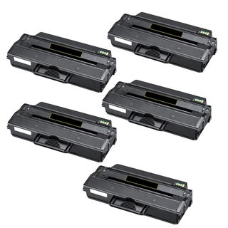 Dell 1260 Compatible 1260 B1260 B1260W B1265 Black Toner (Pack of 5)