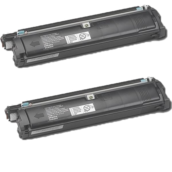 QMS 2200 Black Compatible Toner Cartridge For 2200DL 2200W 2250EN (Pack of 2)