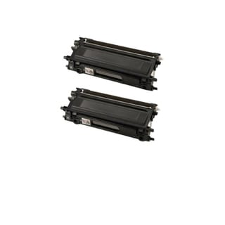 Compatible Brother TN115B/ DCP-9040/ DCP-9045/ HL-4040/ HL-4050/ HL-4070/ MFC-9440/ MFC-9840 Toner Cartridges (Pack of 2)