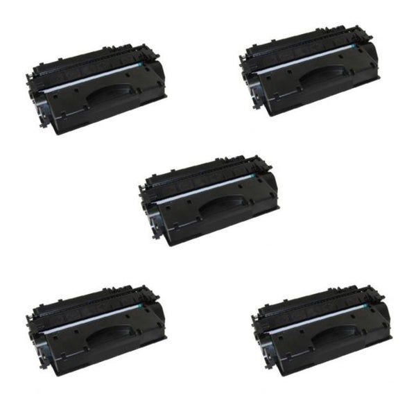 Canon 120 Compatible Black Toner Cartridge D1120 D1150 D1170 D1180 (Pack of 5)