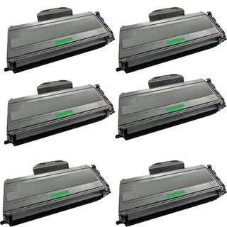 Brother TN360 Toner Cartridge DCP 7030 7040 7045 HL-2140 HL 2150 2170 MFC 7320 7340 7345 7345 (Pack of 6)