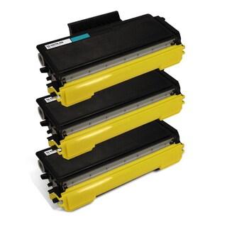 Brother TN650 Compatible Black Toner Cartridges HL-5340 HL-5340D (Pack of 3)