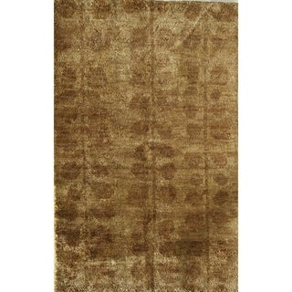 Hand-knotted Morocco Sun Valley Area Rug (7' x 9')