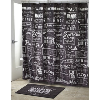 Chalk It Up Shower Curtain