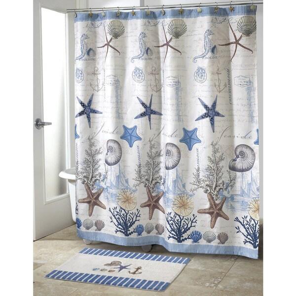 Avanti antigua beach theme shower curtain 17494516 overstock com