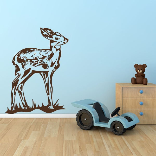 Fawn Animal Vinyl Wall Art