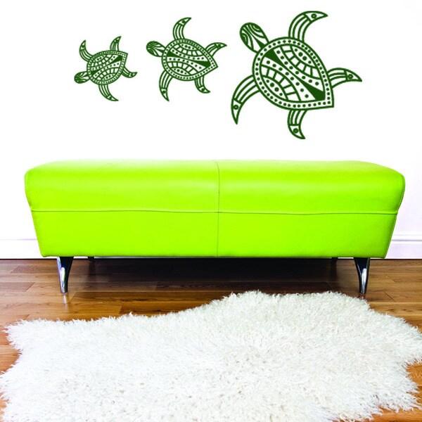 Turtles Animal Vinyl Wall Art