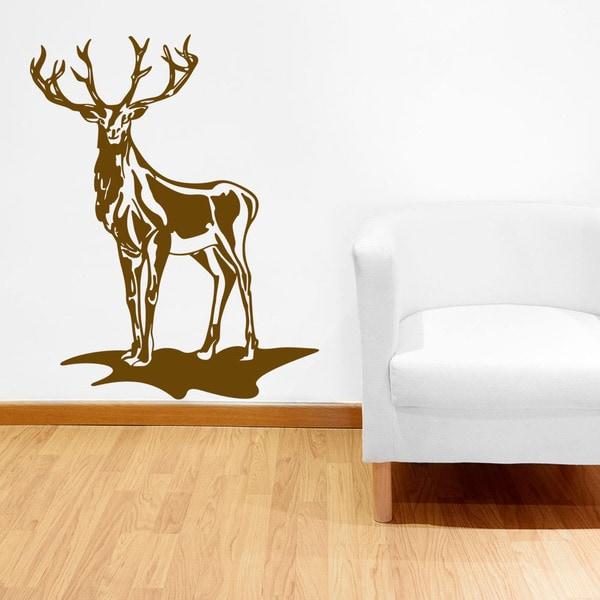 Deer Animal Vinyl Wall Art
