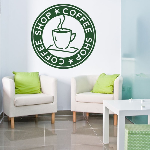 Coffee Shop Kitchen Vinyl Wall Art