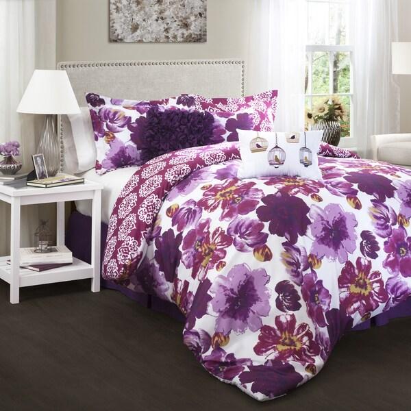 Lush Decor Leah 7 Piece Comforter Set