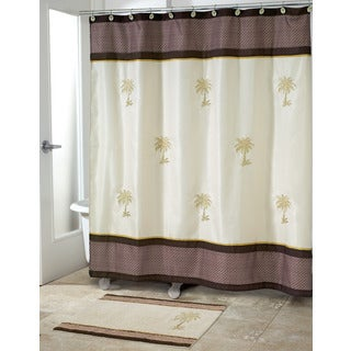 Oasis Palm Shower Curtain