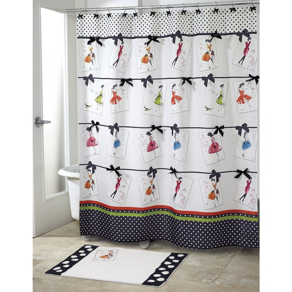 Couture Girl Shower Curtain