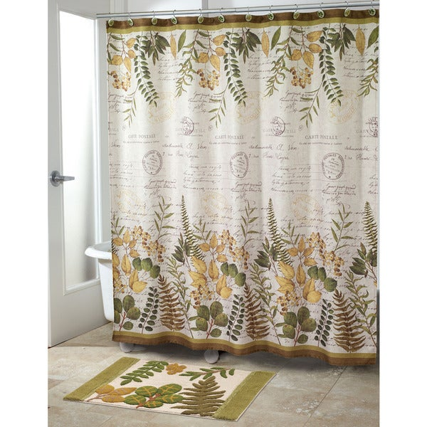 Foliage Garden Shower Curtain