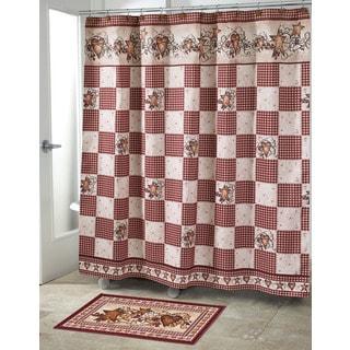 Hearts & Stars Shower Curtain