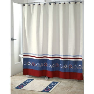 Life Preservers Shower Curtain