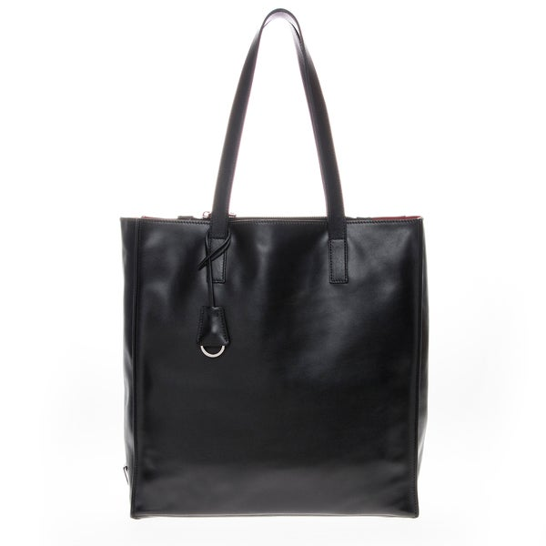 Prada Structured Soft Leather Tote