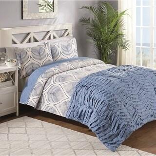 Sanibel 4 Piece Comforter and Quilt Set
