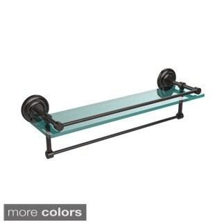 Gallery Glass Shelf with Towel Bar