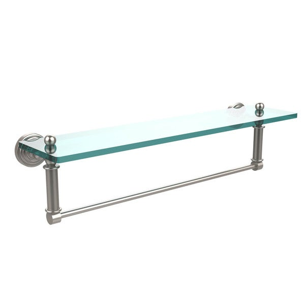Waverly Place Collection  Inch Glass Vanity Shelf And Integrated