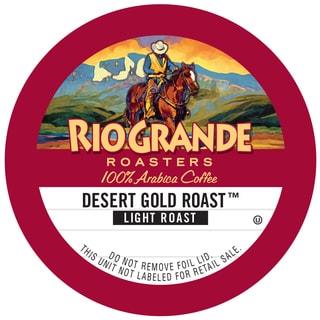 "Rio Grande Roasters ""Desert Gold Roast"" Single Serve Coffee K Cups"