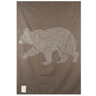 Woolrich Treverton Jacquard Bear Throw