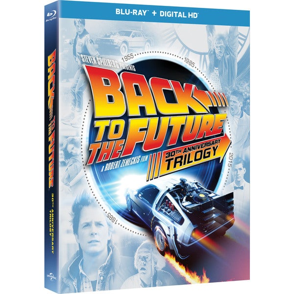 Back To The Future 30th Anniversary Trilogy (Blu-ray Disc) 15914766