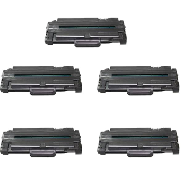 Samsung Compatible MLT-105L Toner Cartridge ML1910 ( Pack of 5 )