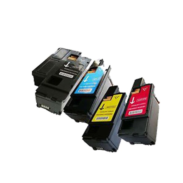 Dell C1250 Toner Compatible Dell C1250 M C B Y Cartridge 1355cn1355cnw ( Pack Of 4 )