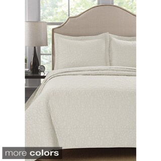 Stone Design 3-Piece Quilt Set
