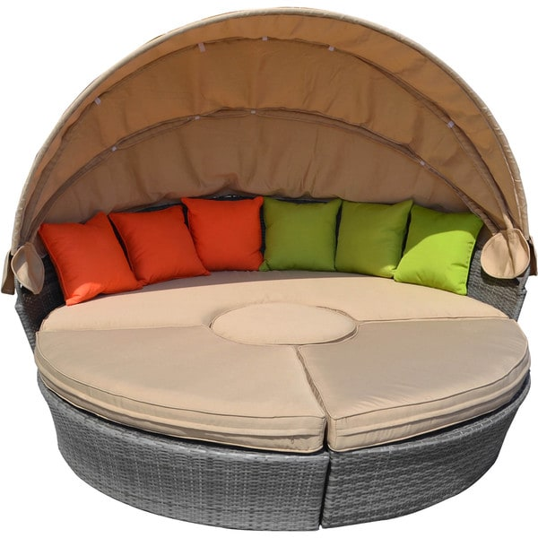 Tapatio 4-Piece All Weether Wicker Lounge Set