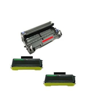 Brother TN650 Toner BK Compatible DR620 Drum Cartridge HL-5340 HL-5340D (Pack of 3)