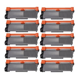Brother TN630 BK Compatible Toner Cartridge HL-L2300D HL-L2305W HL-L2320D HL-L2340DW HL-L2360DW (Pack of 10)