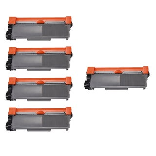 Brother TN630 BK Compatible Toner Cartridge HL-L2300D HL-L2305W HL-L2320D HL-L2340DW HL-L2360DW (Pack of 5)