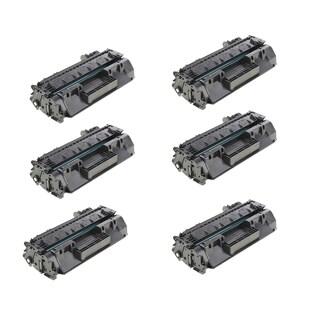 HP CF280A Compatible Black Toner Cartridge (Pack of 6)