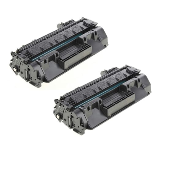 HP CF280A 80A Compatible Black Toner Cartridge LaserJet Pro 400 M401dn LaserJet Pro 400 M401n (Pack of 2)