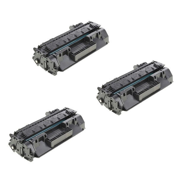 HP CF280X Compatible Black Toner Cartridge (Pack of 3)