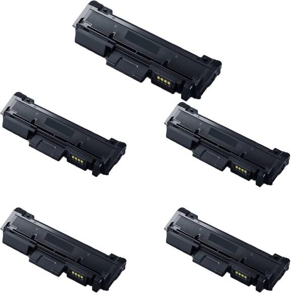 Samsung MLT-D116L Toner Cartridge SL-M2625D 2825DW and M2875FD FW (Pack of 5)