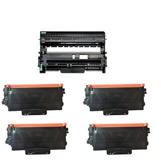 Brother TN420 + DR420 Cartridge HL-2240 HL-2270 (Pack of 5)