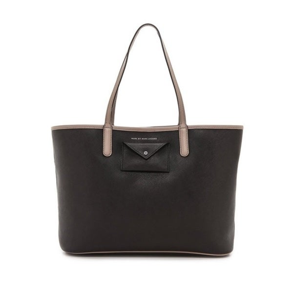 Marc By Marc Jacobs Black Multi Metropolitote Colorblock Tote