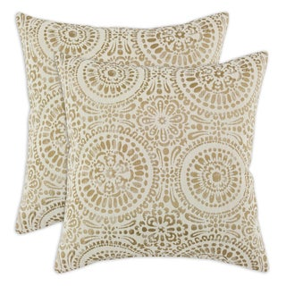 Mandy Straw 17x17 Pillows (Set of 2)